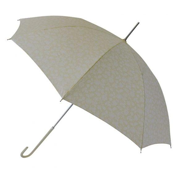 cream ivory bridal umbrella
