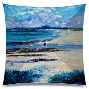 JoLoMo Art Umbrella - High Summer on Isle of Berneray