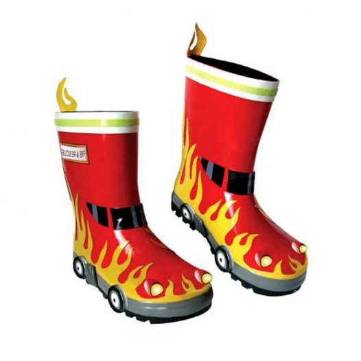 Kidorable Fireman Wellington Boots 1