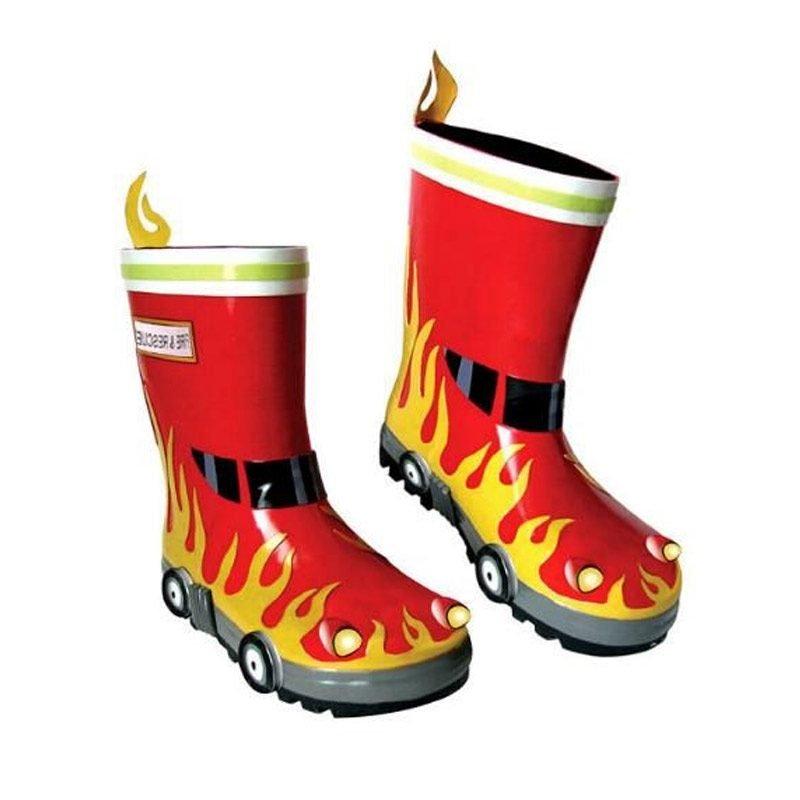 Kidorable Fireman Wellington Boots 1