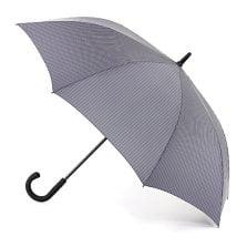 Fulton Fashion Umbrella - Knightsbridge City Stripe - Grey