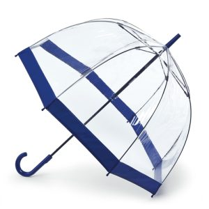 Fulton Birdcage Umbrella - Navy Blue