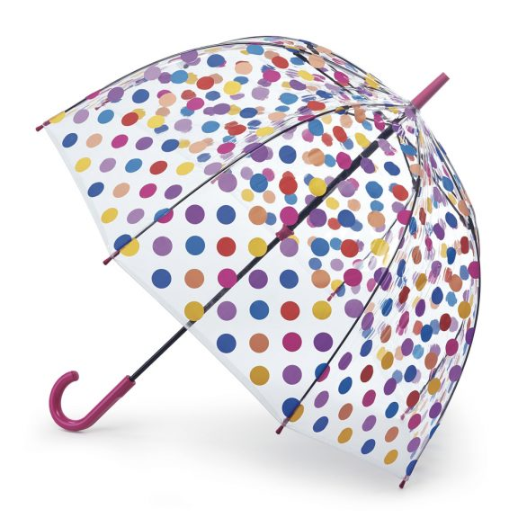 Fulton Birdcage Umbrella - Polka Dot Spots