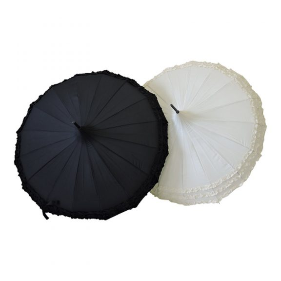 Frilly Pagoda Umbrella