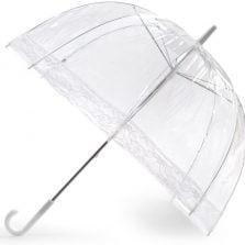 Lace Clear Dome Umbrella