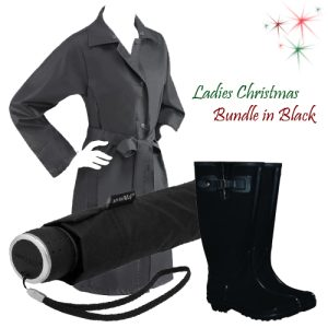 Ladies Gift Set Bundle - Black