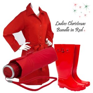 Ladies Gift Set Bundle - Red