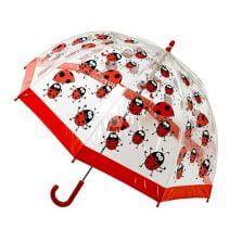 children's PVC ladybird umbrella