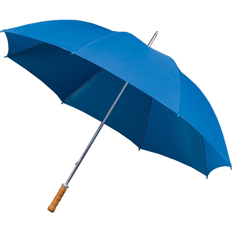 Budget Golf Bright Blue Umbrella