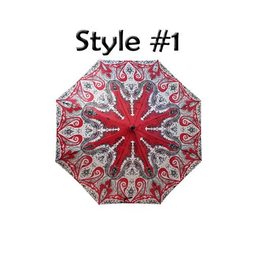 Perletti Printed Designer Umbrella Luchador Style 1