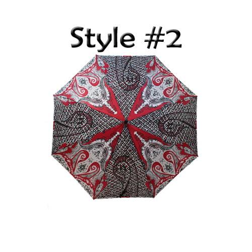 Perletti Printed Designer Umbrella Luchador Style 2