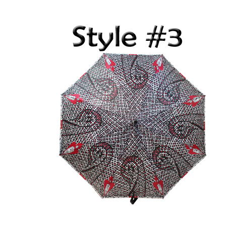 Perletti Printed Designer Umbrella Luchador Style 3