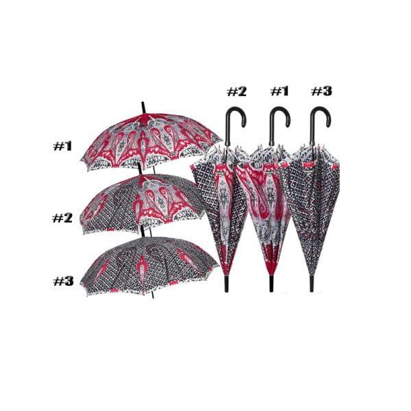 Perletti Printed Designer Umbrella - Charro Luchador