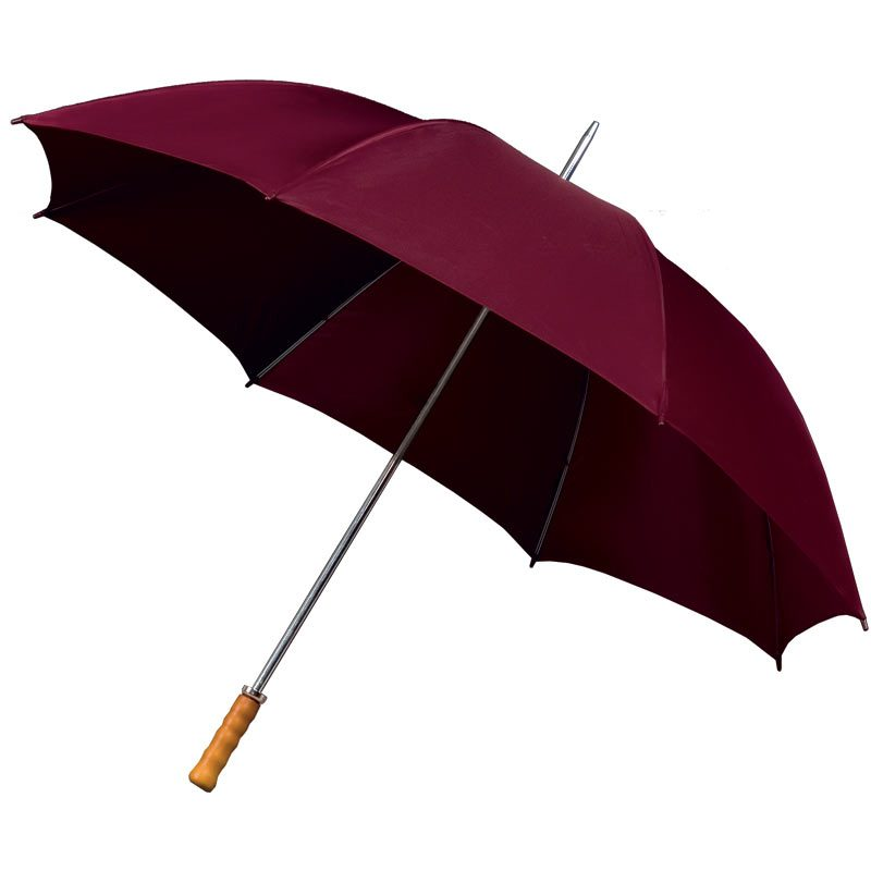 Budget Maroon Umbrella / Budget Golf Umbrella