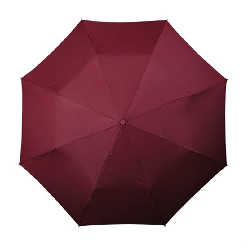 automatic maroon umbrella