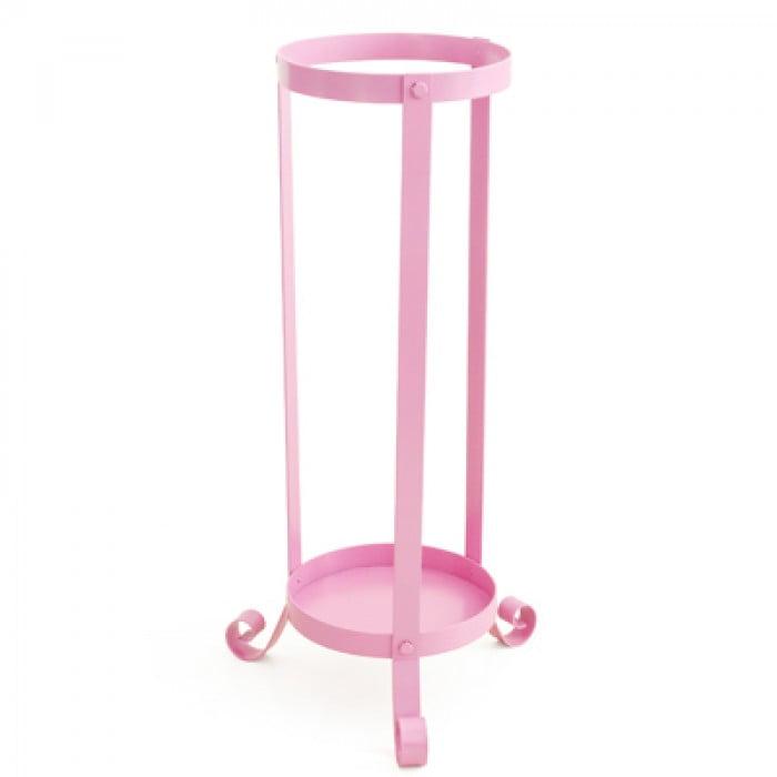 Indoor Umbrella Stand - Pink / Metal from Umbrella Heaven