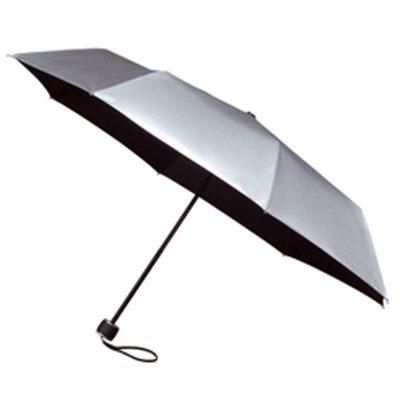 Compact Folding Silver UV Umbrella Minimax Open