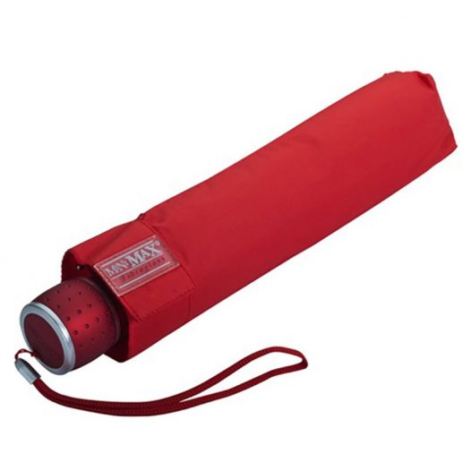 Red Folding Umbrella / Automatic Compact Umbrella - Red