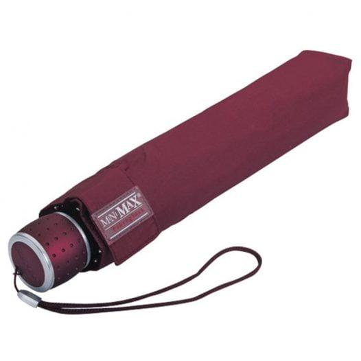 Automatic Maroon Umbrella / Compact Umbrella