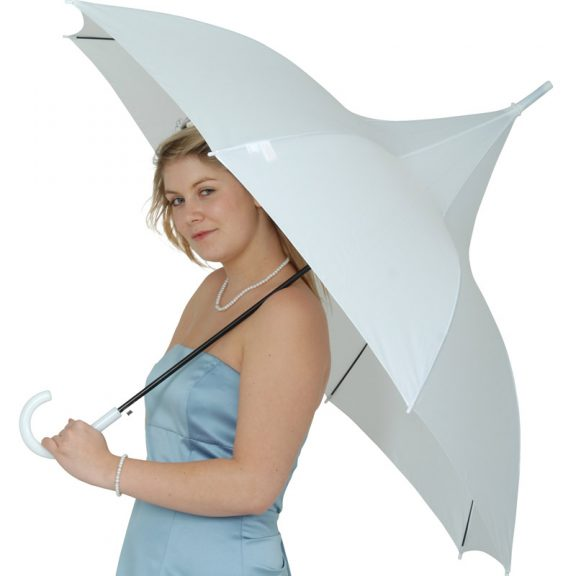 white pagoda umbrella / Classic White Pagoda Best Wedding Umbrella