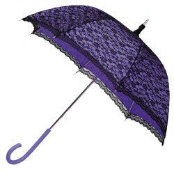 Modern Victorian Purple Lace