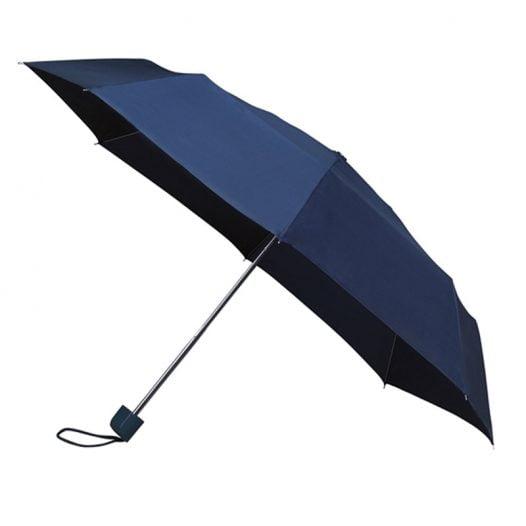 Colourbox Navy Compact Umbrella
