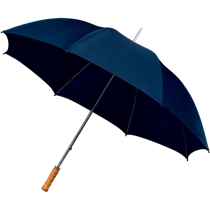 Budget Golf Navy Blue Umbrella
