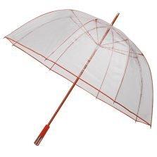 orange trim dome umbrella