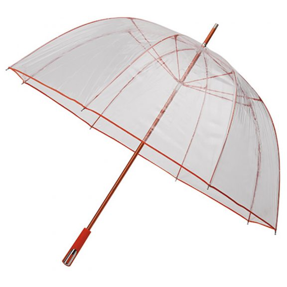 orange trim dome umbrella