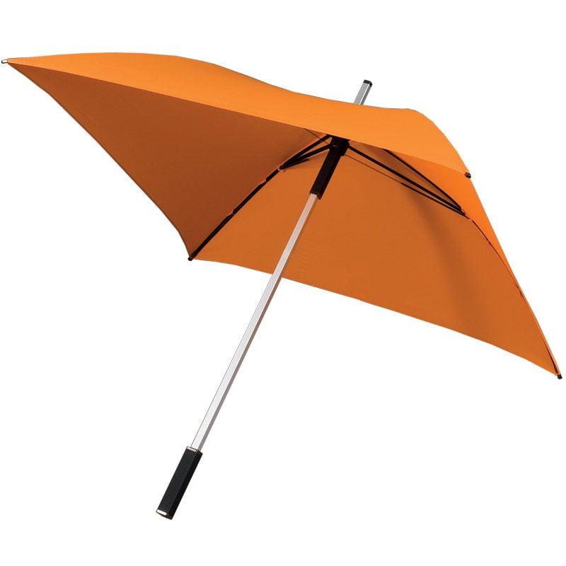 Square shaped umbrella
