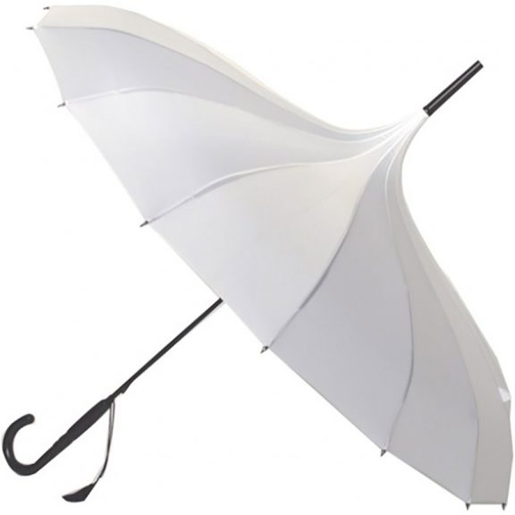 Oriental Umbrella / White Pagoda