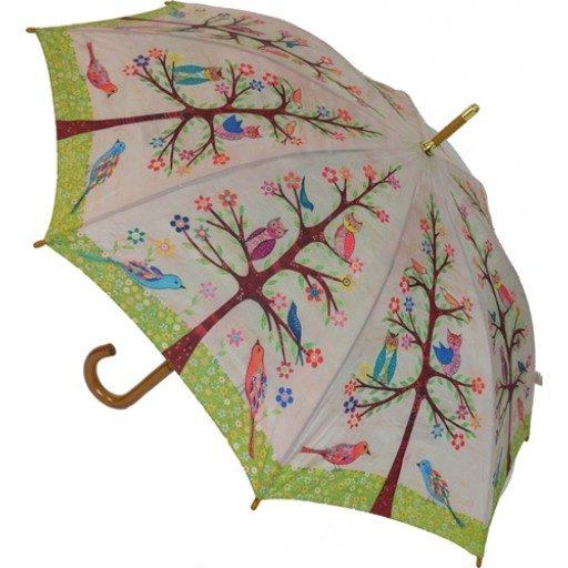 Art Umbrella - Birds Umbrella
