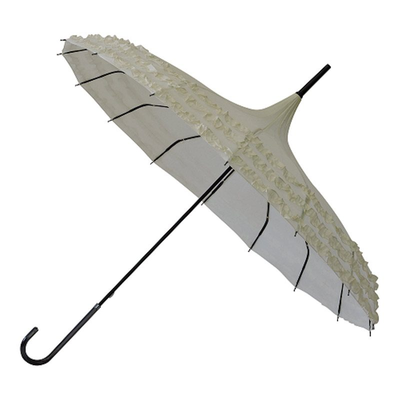 Phoebe - Ivory Umbrella