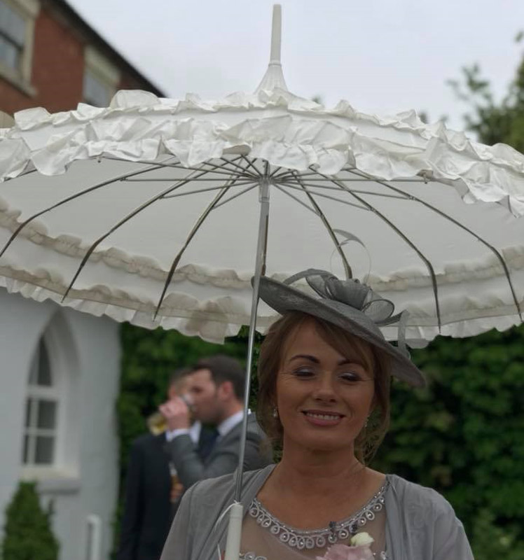 Phoebe Wedding Umbrella Lifestyle 2