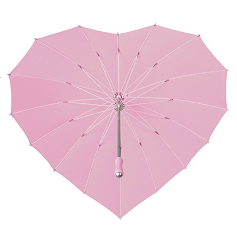 heart shaped umbrellas