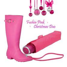 Pink Rainwear Gift set