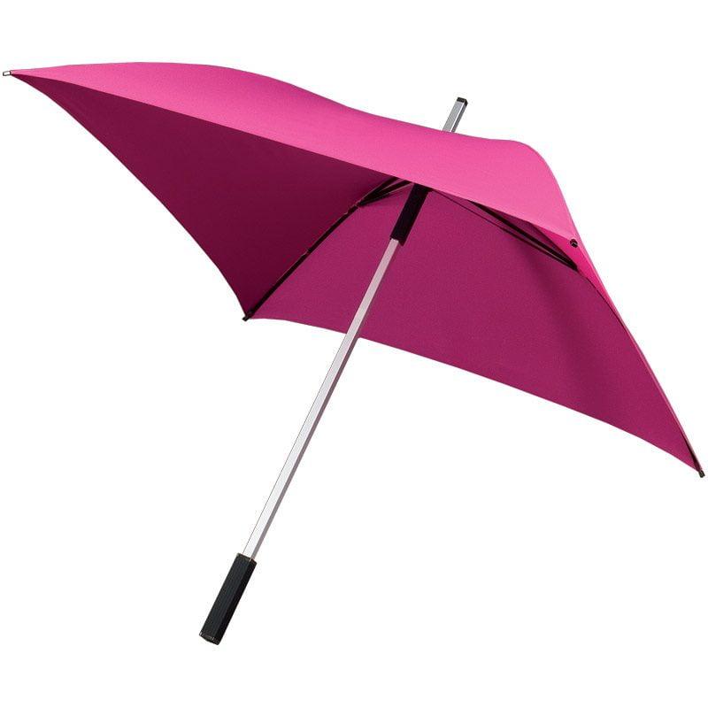 Pink Square Golf Umbrella
