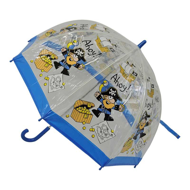 Children's PVC Pirate Umbrella