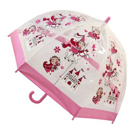 Girls Dome Umbrella PVC
