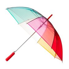 Clear Rainbow Umbrella