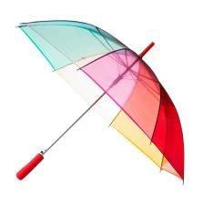 Clear Rainbow Umbrella