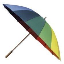 rainbow umbrella ladies golf umbrellas