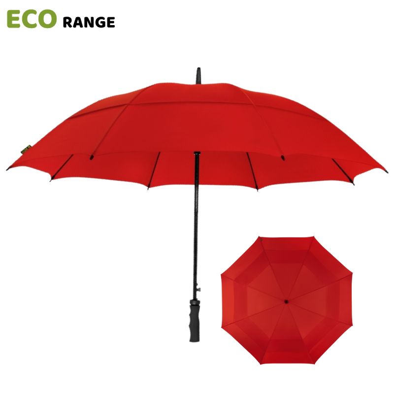 Red ECO Golf Umbrella