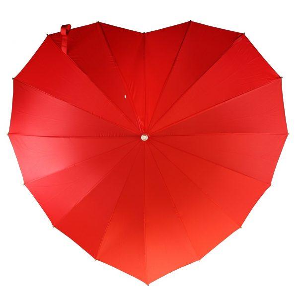 Heart Umbrellas Heart Umbrella - Red