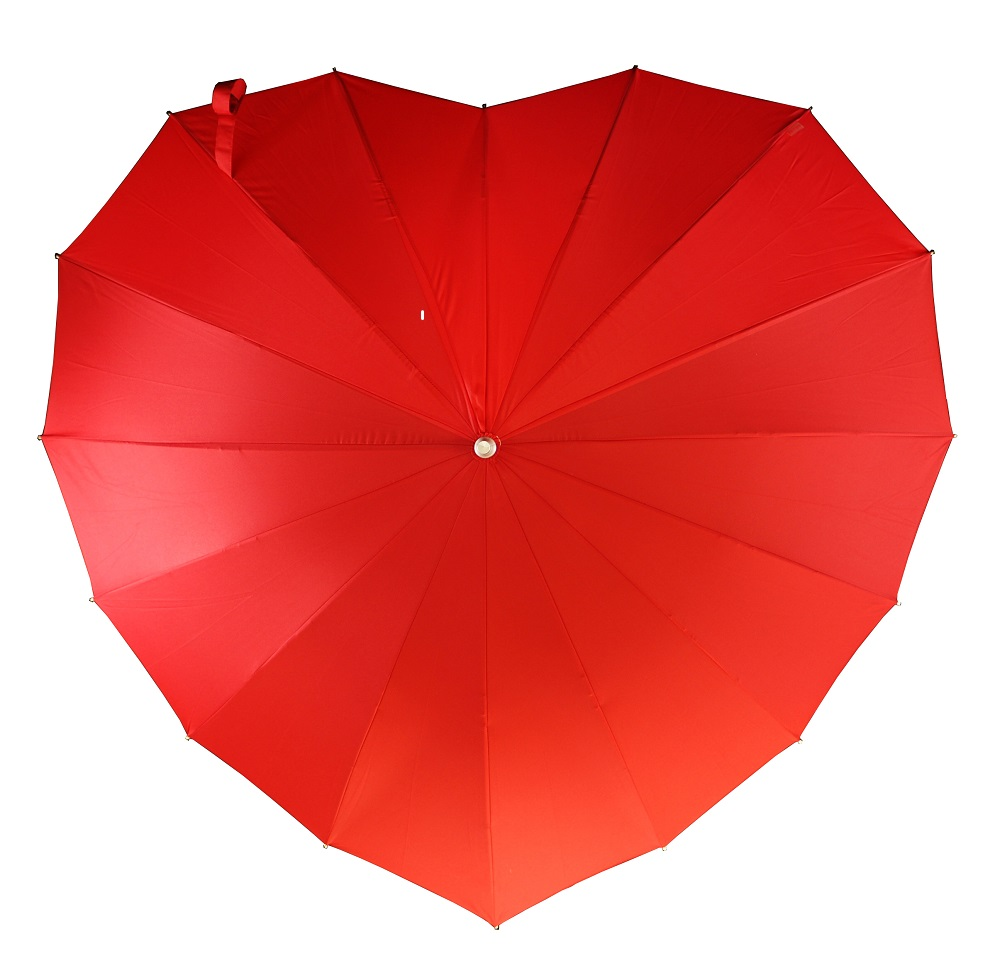 Heart Umbrellas