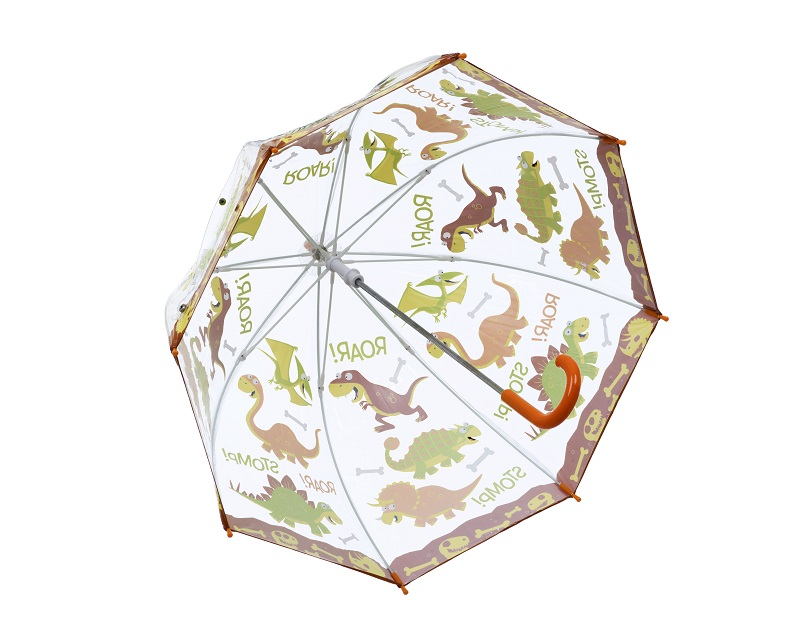 DINOSAUR PVC Kids Umbrella inside