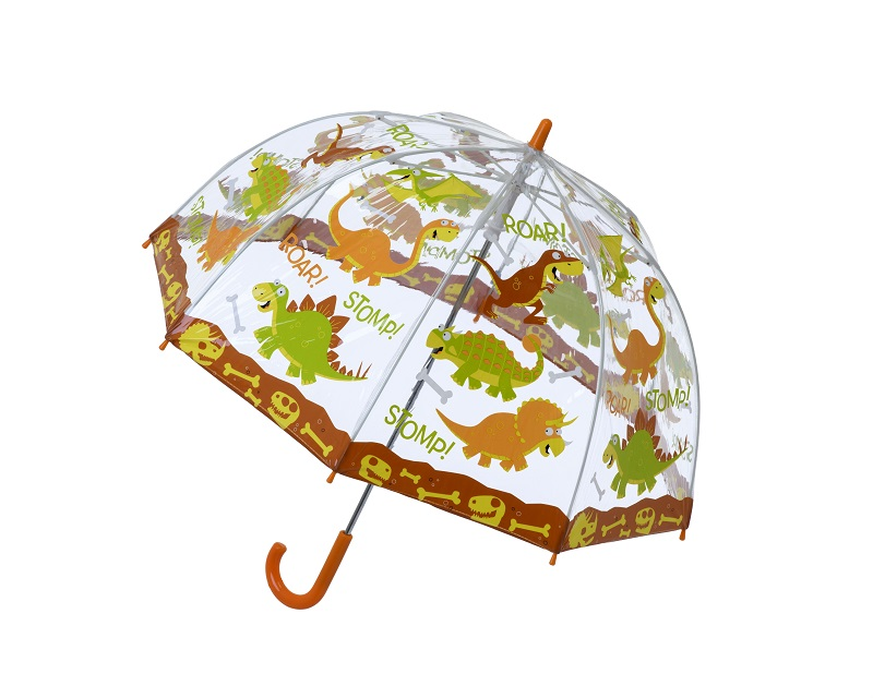 Childrens PVC Dinosaur Umbrella