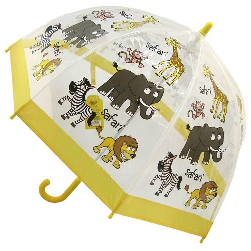 Childrens Cartoon Umbrella Safari