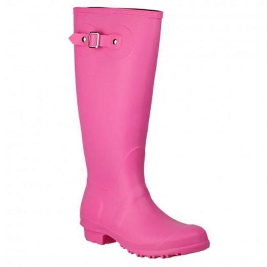 Pink Wellington Boots Sandringham
