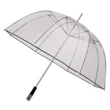 See Through Clear Golf Umbrellas - Black